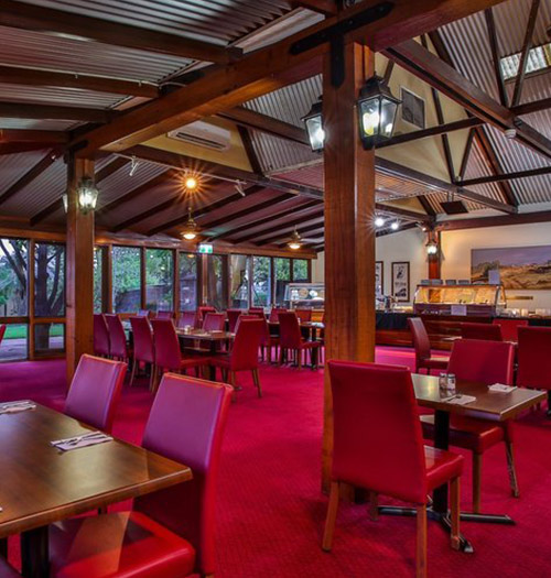 food and drink kimberley hotel gabi's restaurant halls creek